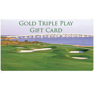 Gold Triple play gift card image